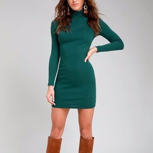 Lulus Phenomenal Feeling Long Sleeve Bodycon Dress